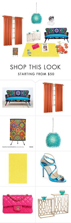 """""""bliss..."""" by scarlet87 ❤ liked on Polyvore featuring interior, interiors, interior design, home, home decor, interior decorating, Sun Zero, Varaluz, Jimmy Choo and Chanel"""