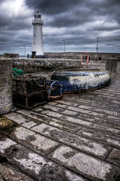 Donaghadee Lighthouse; County Down Northern Ireland.  by Jonny Andrews, via 500px