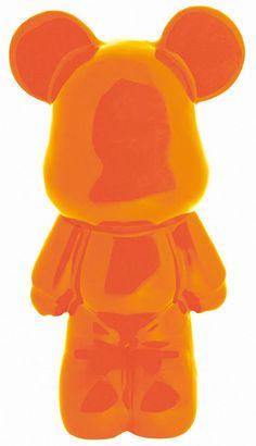 Nain de jardin Orange fluo avec lunettes de soleil Céramiques ...