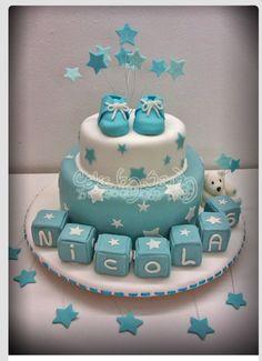 Baby shower moon cake theme