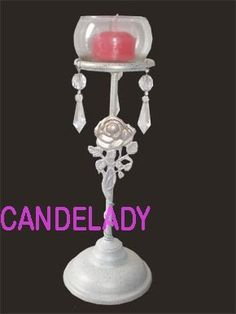 candelabro porta vela en hierro eventos(directo de fabrica)