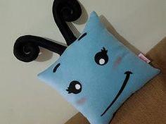 Handmade Blue Cute Butterfly Plush Pillow $27.95 http://www.rbitencourtusa.com/#!product/prd1/2719931611/handmade-blue-cute-butterfly-pillow