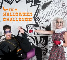 The #FIDM Blog: Vote for Your Favorite Costume to Determine the Winner of the FIDM Halloween Challenge!