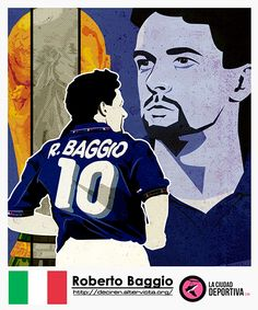 Roberto Baggio by EvanDeCiren on DeviantArt Football Shirts, Football Players, Roberto Baggio, Sports Art, Caricature, World Cup, Soccer, Deviantart, Cartoon