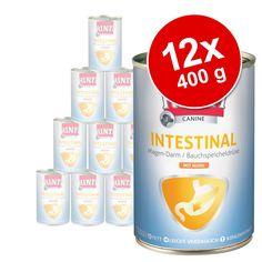 Animalerie  Lot RINTI Canine 12 x 400 g pour chien  Intestinal poulet
