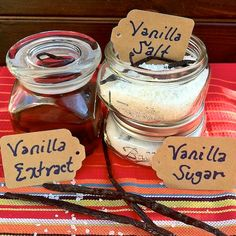 Homemade Vanilla Spices