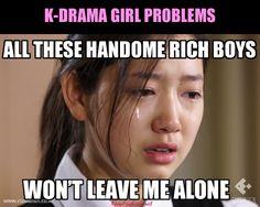 kpop fashion K-Drama Girl Problems Korean Drama Funny, Funny Asian, Korean Drama Quotes, My Love From Another Star, Moorim School, Rich Boy, Korean Shows, Drama Fever, Kdrama Memes