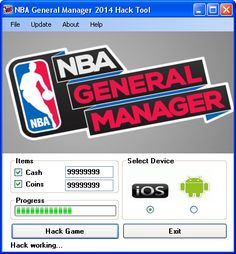 Try NBA General Manager Hack Tool download 2016 update version. Hack NBA General Manager Hack Tool with cheat. Hack NBA General Manager Hack Tool on smartphone directly. New cheats available in this moment.