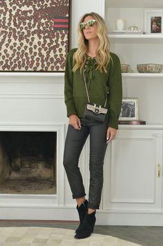 Nati Vozza do Blog de Moda Glam4You usa look casual de inverno.