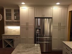 New construction kitchen with island in Orlando, FL. Designed by T ...