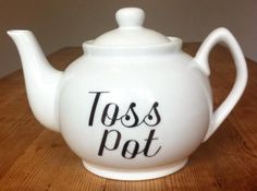 Teabag Toss  hand each guests five tea bags and have them try and toss them into an open tea pot a few feet away. You can add more than one teapot, and assign a point value for each pot.