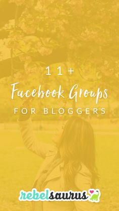 Facebook groups are a fun way to connect with other bloggers and entrepreneurs and also network, get questions answered, or sometimes promote your blog posts or services. Here are 11+ Facebook groups for bloggers that I've personally used.