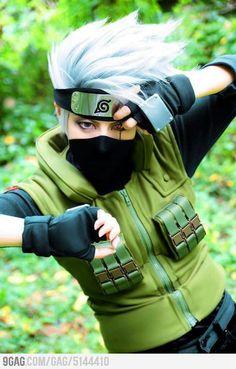 Hatake Kakashi cosplay::the accuracy!