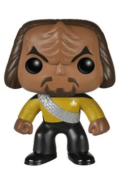 Amazon.com: Funko POP TV: Star Trek The Next Generation - Worf Action Figure: Toys & Games