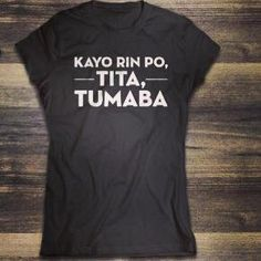 The perfect t-shirt to wear for the upcoming get-together with your family. #itsapinoychristmas