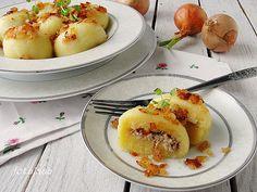 Ala piecze i gotuje: Kluski śląskie z mięsem