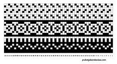 Musta-valkoiset pitkät villasukat - Puikot ja kerä lankaa Knitting Socks, Knit Socks, Stuff To Do, Periodic Table, Charts, Embroidery, Blue Prints, Socks, Tricot