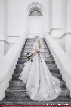Alta Moda bride Jordan in a dress by Anne Barge   Image by Nick Adams
