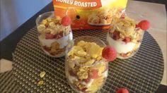 Postre de yogurt, rasberries y cereal- Facil- El Diario de mi Hogar