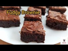 Fudgy Brownie | Coffee Brownie - YouTube Coffee Brownies, Fudgy Brownies, The Creator, Cakes, Kitchen, Desserts, Easy, Youtube, Recipes
