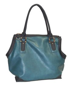 Look what I found on #zulily! Blue Camille Tote by Buxton #zulilyfinds