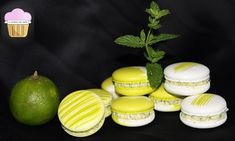 La gourmandise selon Sandrine: Les MACARONS « MOJITO » Mojito, Oreo, Macarons, Mousse, Biscuits, Muffin, Cookies, Breakfast, Food