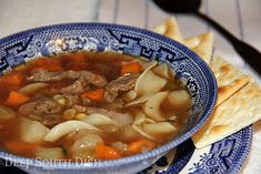A collection of some of my favorite Deep South Dish soup recipes for National Soup Month. Soup Recipes, Cooking Recipes, Gumbo Recipes, Recipies, Chili Recipes, Cooking Tips, Deep South Dish, Beef Noodle Soup, Soup And Sandwich