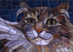 Roxy, mosaic by Christine Brallier