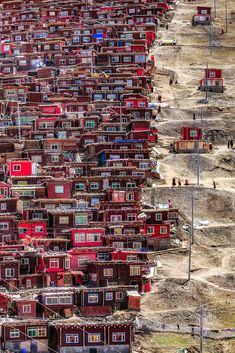 This was a beautiful image. Humans are capable of making such inhospitable areas habitable. However, despite the beauty of the image itself, this housing system is problematic. Do the residents of these homes enjoy a fair quality of life?