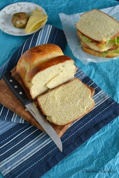 White Bread using Tangzhong Method