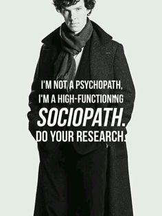 I am not psychopat