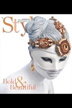 Style Magazine cover, Hair and makeup by Marissa