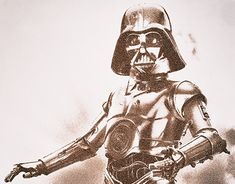 Fake News, Behance, Darth Vader, Gallery, Fictional Characters, Roof Rack, Fantasy Characters