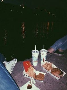 i loved eating as much as i possibly could and i loved making excuses as a young thing should and i loved stars in the night sky i saw them in your eyes ju; Night Aesthetic, Summer Aesthetic, Retro Aesthetic, Aesthetic Grunge, Nature Aesthetic, Aesthetic Collage, Aesthetic Food, Summer Nights, Summer Vibes