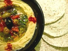 Arabic Food Recipes: Mediterranean Hummus Recipe