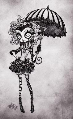 Petite Harlequin by Lithium-Tears.deviantart.com on @deviantART