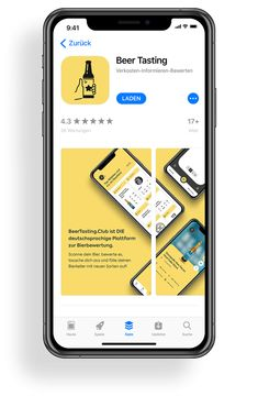 Kalea –BeerTasting | MOREMEDIA® App Store, App Design, Phone, Beer, Telephone, Application Design, Mobile Phones