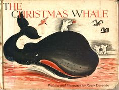 stickers and stuff: The Christmas Whale - Roger Duvoisin