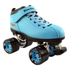 Riedell Dart Ice Blue Quad Speed Skates with Matching Laces for Roller Derby by Riedell. $99.00. Riedell Dart Light Ice Blue Quad Speed Skates - Light Ice Blue Boots with Black Wheels & Light Ice Blue Hubs - NOW WITH MATCHING LACES - Includes 2 Pairs of Laces (Light Blue & Black) Brand new speed skates from Riedell - The Riedell Dart! Riedell Dart quad speed roller skates are the hottest new item from Riedell. The Dart speed skates come in 5 colors so make sure ...