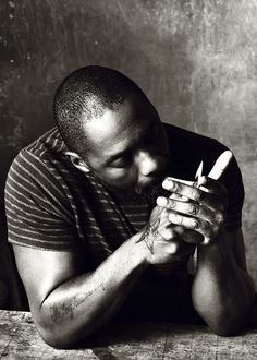 Idris Elba | He can smoke I don't care. He can eat crackers in bed too. I wouldn't complain.