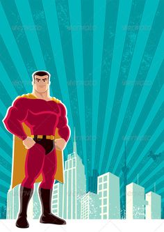Superhero City — Photoshop PSD #copyspace #grunge • Available here → https://graphicriver.net/item/superhero-city/530639?ref=pxcr
