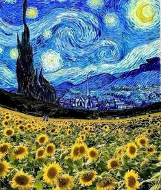 art artist artoftheday artsy beautiful creative draw drawing gallery graphic graphics illustration instaart… is part of Van gogh - Van Gogh Wallpaper, Painting Wallpaper, Starry Night Art, Stary Night Van Gogh, Stary Night Painting, Starry Nights, Van Gogh Pinturas, Vincent Willem Van Gogh, Van Gogh Quotes