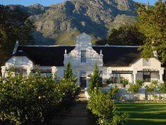 Cape Dutch Architecture I South Africa Studios Architecture, Architecture Details, Colonial Architecture, Beautiful Buildings, Beautiful Homes, Holland, Cape Dutch, Dutch House, Cape Town South Africa