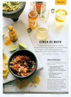 CHRISTOPHER BAKER: May 2011 Bon Appetit Magazine