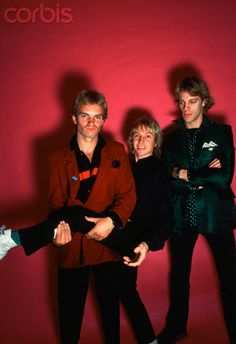 "The Police 1979 - part of a session, from witch the cover foto for ""The Police - A Visual Documentary by Miles"" was later taken."