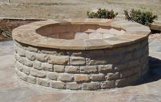 fire pit - I love the stone rim on this one.  It seems to be so simple, yet it adds dimension to it.