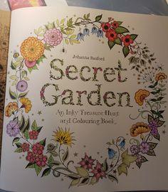First Image I Coloured From Johanna Basford Secret Garden
