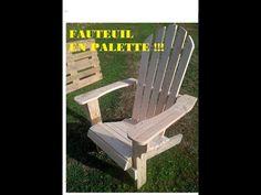 Réalisez facilement un fauteuil en palette, sans outils sophistiqués,étapes par étapes.