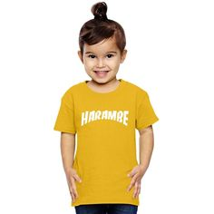 Rest In Peace Harambe Toddler T-shirt
