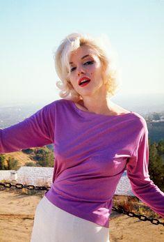 Marilyn Monroe. Photograph by George Barris, June-July 1962.